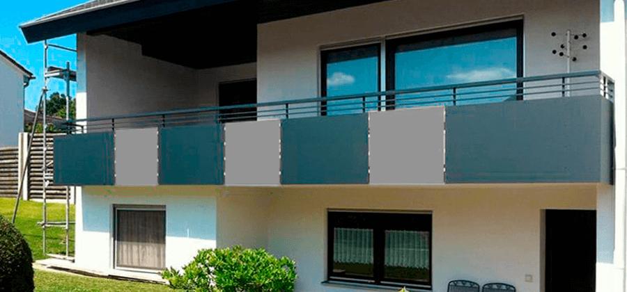 In 3 Schritten zur Balkonumrandung mit HPL Platten