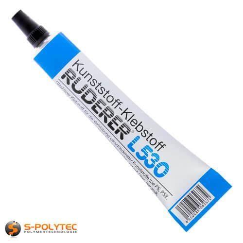 Adhesive plasticglue Ruderer L530 crystal-clear transparent