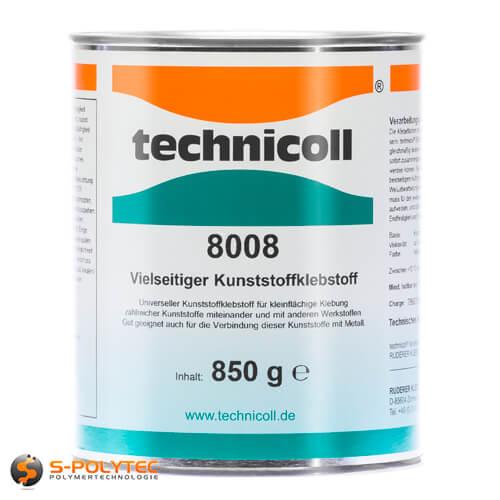 Technicoll 8008 - universal adhesive for plastics 850gramm can