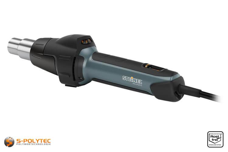 STEINEL® HG 2420 E hot-air welding unit in case