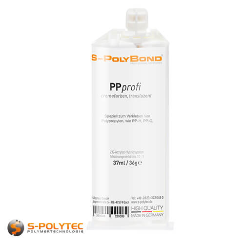 Polypropylene adhesive - PPprofi 37ml for glueing PP-H and PP-C