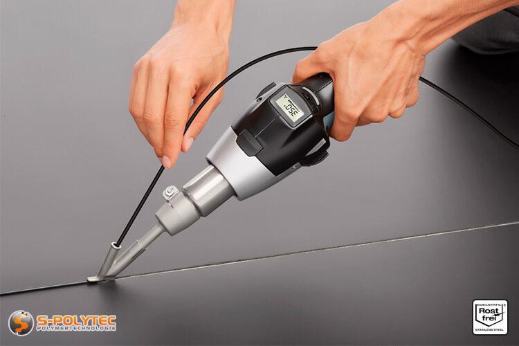 Example: Welding with STEINEL high-speed welding shoe 5mm