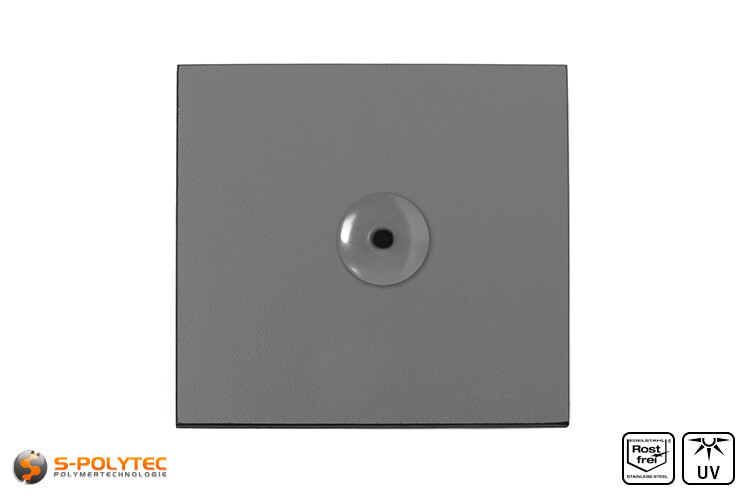 Facade rivets dusty grey (RAL 7037)