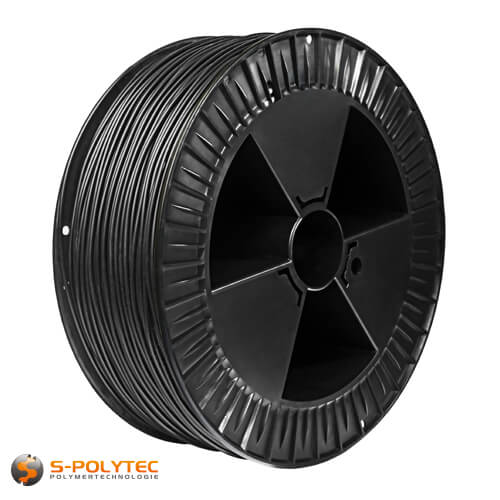 PE welding wire black 3mm for polyethylene